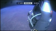 Felix Baumgartner - The Biggest And Fastest Freefall Ever - Redbull Stratos