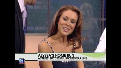 Alyssa Milano On Fox News