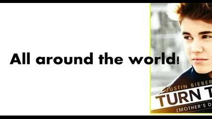 Justin Bieber - All Around The World ft. Ludacris (lyrics)