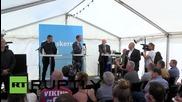 Denmark: Far-right parties swap notes at island festival