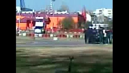 Drift na Ivailo Aleksov na karting pista Layta v Plovdiv na 07.11.2010 godina.