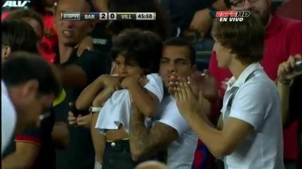 Fc Barcelona - Villarreal 5-0 All Goals