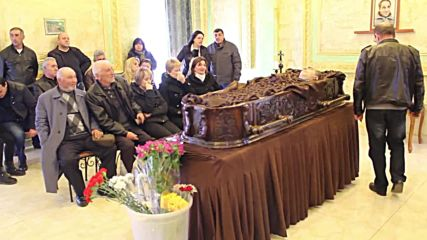 Armenia: Funeral held for the 'Bread Bringer' Artur Sarkisyan