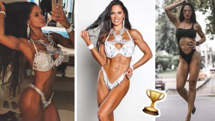 Повод за гордост: Българка покори световния фитнес връх! Няма по-добра от нея!