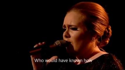 Adele - Someone like you (official Video Lyrics) Hd Live