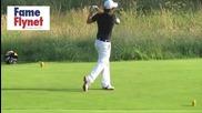 One Direction и Jls играят голф