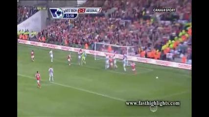 Уест Бромич - Арсенал 2:3