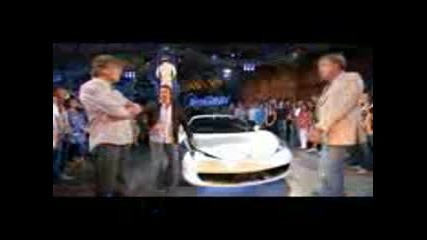 Top Gear Ferrari 458 Italia Review & Lap