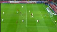 Русия - Черна Гора 2:0 (Първо полувреме)