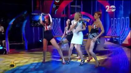 Мария Игнатова и Алекс Раева - Lip Sync Предизвикателство - Господари на ефира (18.11.2014)