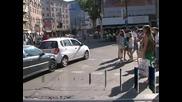 Протест срещу новите правила за паркиране в синята зона на София