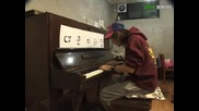 Ето ефекта когато се комбинират човешката уста и пиано
