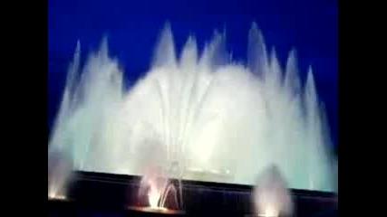 Barcelona - Пеещите фонтани4