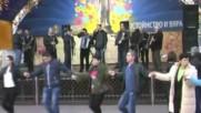 Виртуозите на Бг народна музика от Хасково Коледно хоро