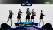 111110 - Wonder Girls Comeback Next Week - M! Countdown - November 10, 2011