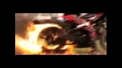 Motorcycle tire burnout stunt - burnout motorcycle stunt