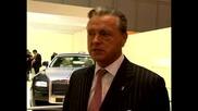 Автомобилното шоу в Женева