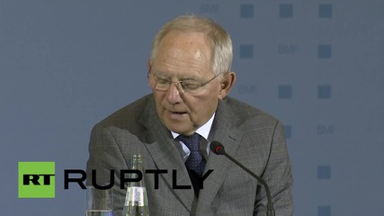 "Germany: FinMin Schauble ""skeptical"" that Greek debt deal will be agreed by Monday"