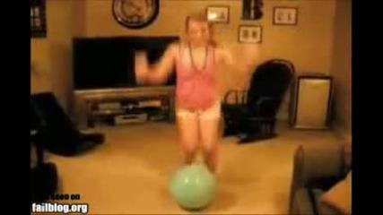 Преби се с тая топка - хахахахаха