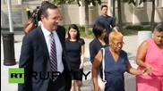 USA: Former FIFA Vice-President Jeffrey Webb's family leave NYC court