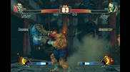 Street Fighter 4 Tournament: Balrog vs. Sagat