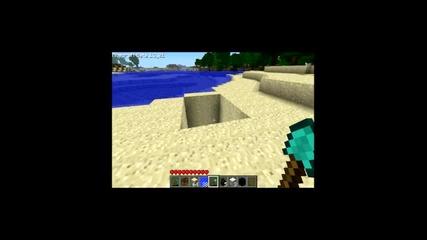 Minecraft: Как се прави Водна стълба