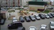 Този го направиха на невеляшка - хората са жестоки! Бой на паркинг в Русия