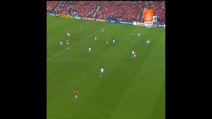 Швейцария - Турция 1:0 Хакан Якин Гол