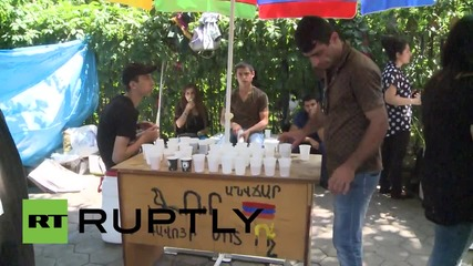 Armenia: Protesters relax as government suspends electricity price hike