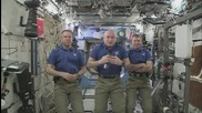 ISS: Astronauts aboard the ISS address planet Earth ahead of the New Year