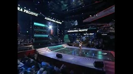 Aleksandra Prijović - Emisija 4 (Zvezde Granda 2011_2012 - Emisija 4 - 15.10.2011)