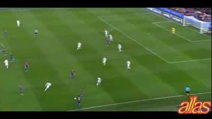 Fc Barcelona се гаврй с Real Madrid 25.01.2012 [el Clasico]