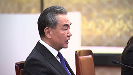 Japan: Chinese FM Wang meets Japanese counterpart in Tokyo