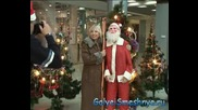 Голи и Смешни Снимка с Дядо Коледа(Скрита Камера)