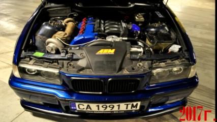 Най - красивото и бързо Street Бмв Е36 в България 600hp