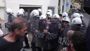 Greece: Protesting journalists clash with police in Athens