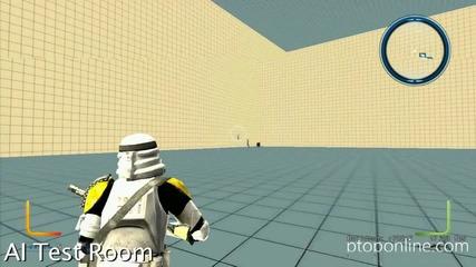 Battlefront 3 test room