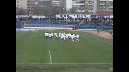 Спартак (вн) - Цска 0:2.излизане на футболистите.