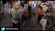 Funny! Harlem Shake - Mourinho _ Real Madrid's Players after Vicotry - 27_02_2013