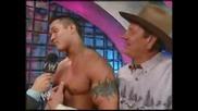 Интервю С Randy Orton По Случай Победата Му Над Гробаря