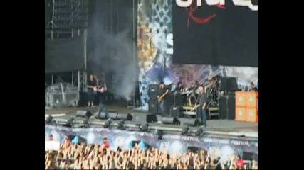 Stone Sour - made of scars live in bulgaria