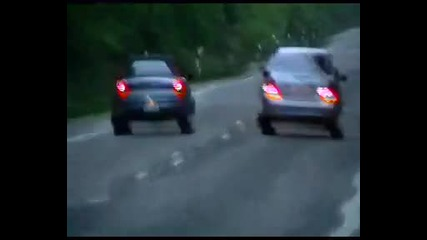 Mercedes E - 350 vs. Honda S 2000