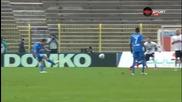 Двата гола на Владимир Гаджев срещу Марек