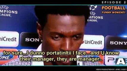 Най - смешните футболни моменти за 2011 година