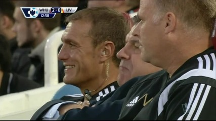 ВИДЕО: Емоциите на Сам Алърдайс при успеха над Ливърпул
