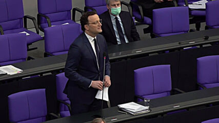 Germany: 'We need to learn together how to live with this virus' - Health Min Spahn