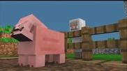 Minecraft Animation - Pig and Sheep