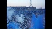 Levski - Shalke04 Fans & Smoke In The End