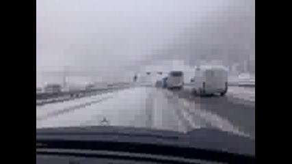 Сняг Вали На 5 Септември В Австрия