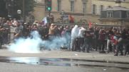 France: 20 officers injured as strikers and labour protesters unleash fury in Paris